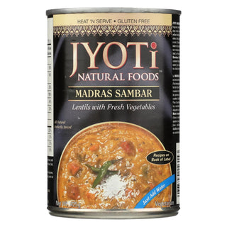 Jyoti Cuisine India Madras Sambar - Case Of 12 - 15 Oz.