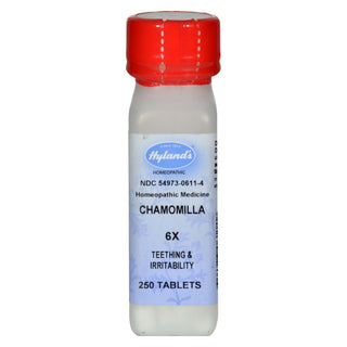 Hylands Homeopathic Chamomilla 6x - 250 Tablets