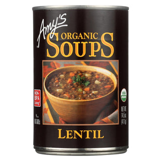 Amy's - Organic Lentil Soup - Case Of 12 - 14.5 Oz