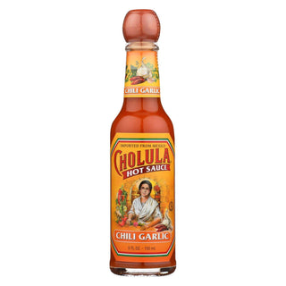 Cholula Hot Sauce - Chili Garlic - Case Of 12 - 5 Fl Oz.
