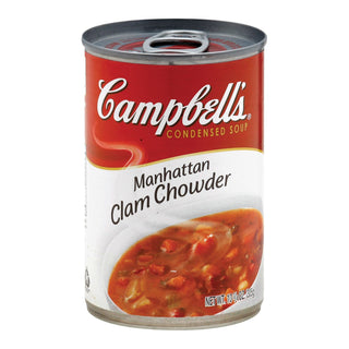 Campbell's Chowder - Manhattan Clam - Case Of 12 - 10.75 Oz
