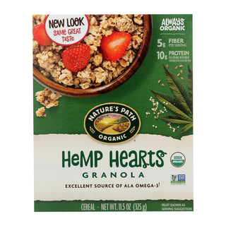 Nature's Path Organic Hemp Plus Granola - Case Of 12 - 11.5 Oz.