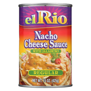 El Rio Nacho Cheese Sauce - Regular - Case Of 12 - 15 Oz.