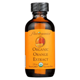 Flavorganics Organic Orange Extract - 2 Oz