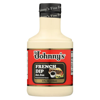 Johnny's - French Dip Au Jus Concentrated Sauce - Case Of 6 - 8 Oz.