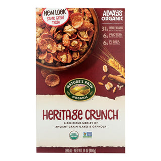 Nature's Path Organic Heritage Crunch Cereal - Case Of 12 - 14 Oz.