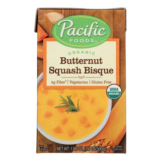 Pacific Natural Foods Bisque - Butternut Squash - Case Of 12 - 17.6 Oz.