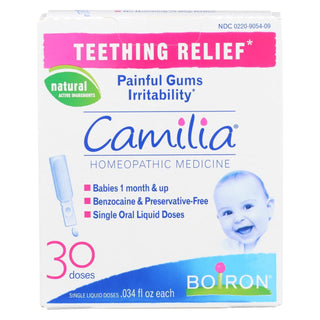 Boiron - Camilia Teething Relief - 30 Doses