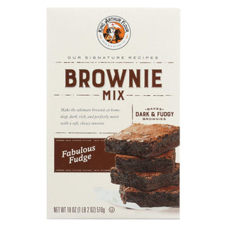 King Arthur Fudge Brownie Mix - Case Of 6 - 18 Oz.