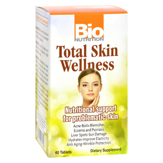 Bio Nutrition - Total Skin Wellness - 60 Tablets