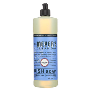 Mrs. Meyer's Clean Day - Liquid Dish Soap - Bluebell - Case Of 6 - 16 Oz