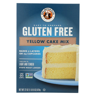 King Arthur Yellow Cake Mix - Case Of 6 - 22 Oz.