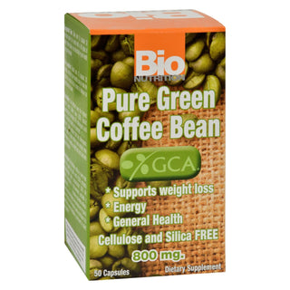 Bio Nutrition - Pure Green Coffee Bean - 50 Gelcaps