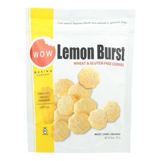 Wow Baking Lemon Burst Cookies - Case Of 12 - 8 Oz.