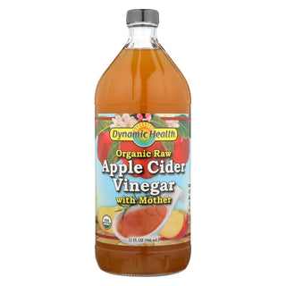 Dynamic Health Apple Cider Vinegar - Organic With Mother - 32 Oz