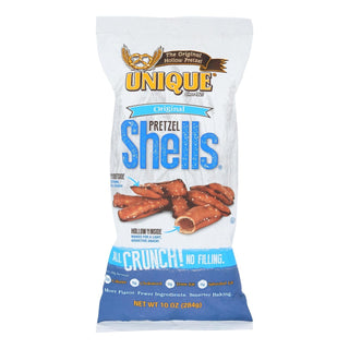 Unique Pretzels - Pretzel Shells - Original - Case Of 12 - 10 Oz.
