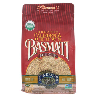Lundberg Family Farms Organic California Brown Basmati Rice - Case Of 6 - 2 Lb.