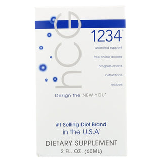 Creative Bioscience Hcg 1234 - Oral Diet Drops - 2 Oz