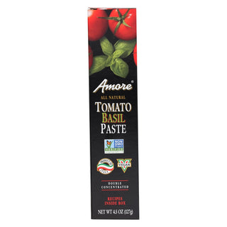 Amore - Tomato Basil Paste - Case Of 12 - 4.5 Oz