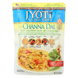 Jyoti Cuisine India Channa Dal With Zucchini - Case Of 6 - 10 Oz.
