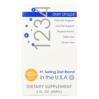 Creative Bioscience 1234 Diet Drops - 2 Oz