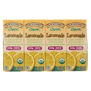 R.w. Knudsen - Juice Box - Organic Lemonade - Case Of 7 - 6.75 Fl Oz.