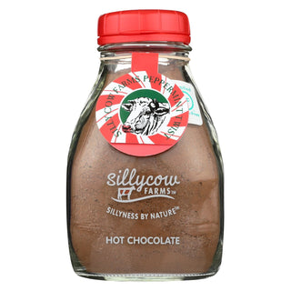 Silly Cow Farms Hot Chocolate - Peppermint Twist - Case Of 6 - 16.9 Oz.