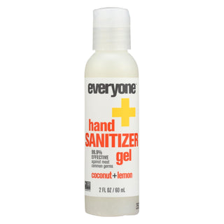 Eo Products - Hand Sanitizer Gel - Everyone - Cocnt Lmn - Dsp - 2 Oz - 1 Case