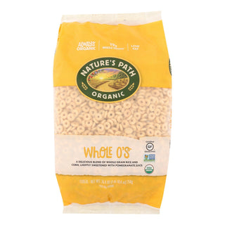 Nature's Path Organic Whole O's Cereal - Case Of 6 - 26.4 Oz.