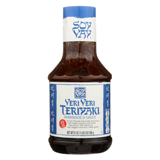 Soy Vay Veri Teriyaki Marinade And Sauce - Case Of 6 - 21 Fl Oz.