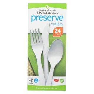 Preserve Cutlery - Medium Weight - Case Of 12 - 24 Count