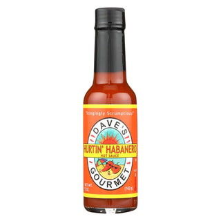 Dave's Gourmet - Daves Hurtin Hab Sauce - Case Of 12 - 5 Fl Oz