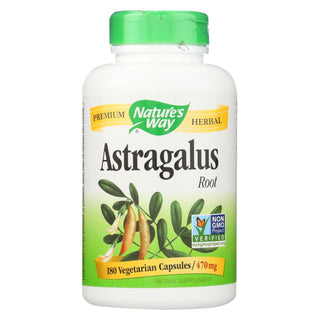 Nature's Way - Astragalus Root - 180 Veg Capsules