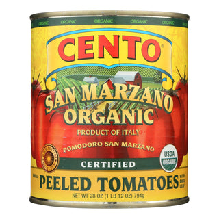 Cento - Whole Peeled Tomatoes - Case Of 6 - 28 Oz.