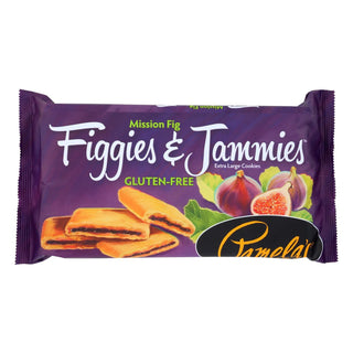 Pamela's Products - Gluten Free Cookies Mission Fig - Figgies And Jammies - Case Of 6 - 9 Oz.