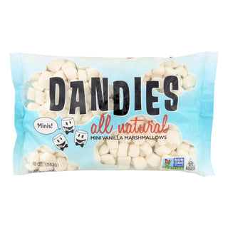 Dandies - Air Puffed Mini Marshmallows - Classic Vanilla - Case Of 12 - 10 Oz.