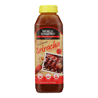 World Harbor Asian Inspired Sriracha Marinade And Sauce - Case Of 6 - 16 Fl Oz.