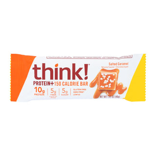 Think Products Thinkthin Bar - Lean Protein Fiber - Caramel - 1.41 Oz - 1 Case