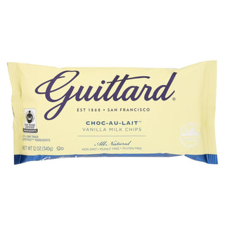 Guittard Chocolate Chips - Choc-au-lait - Case Of 12 - 12 Oz.