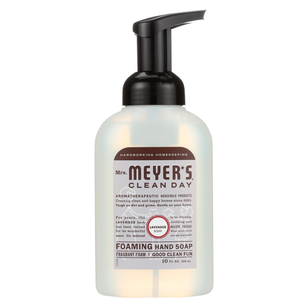 Mrs. Meyer's Clean Day - Foaming Hand Soap - Lavender - Case Of 6 - 10 Fl Oz
