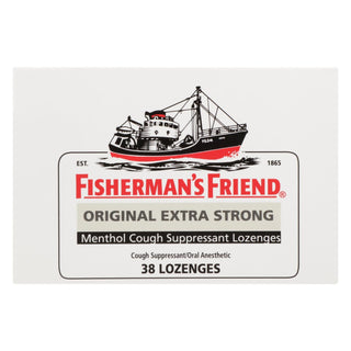 Fisherman's Friend Lozenges - Original Extra Strong - Dsp - 38 Ct - 1 Case