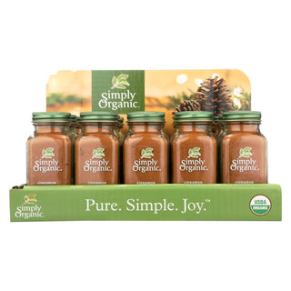 Simply Organic - Ground Cinnamon - Organic - 15 Count