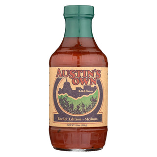 Austins Own Bbq Sauce - Birder Edition - Case Of 6 - 18 Oz