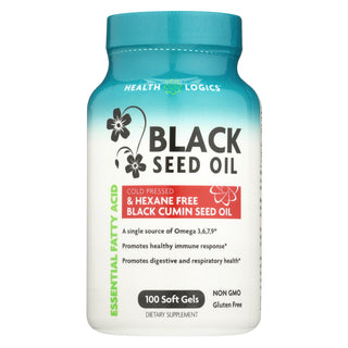 Health Logics Black Cumin Seed Oil - 100 Softgels