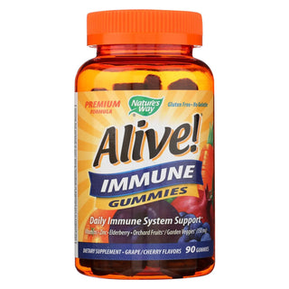 Nature's Way - Alive! Immune Gummies - 90 Gummies