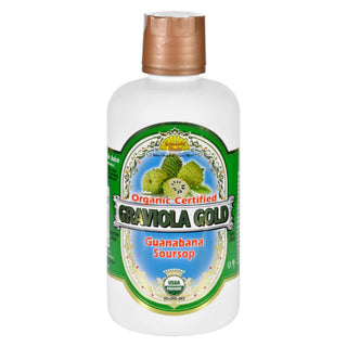 Dynamic Health Juice - Graviola Gold - Organic Certified - 32 Oz