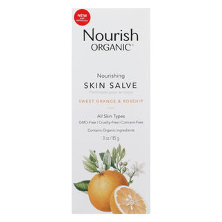 Nourish Organic Skin Solve - Organic - Sweet Orange And Rosehip - 3oz