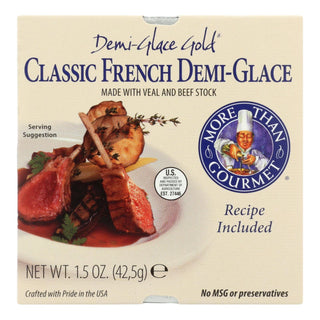 More Than Gourmet Demi-glace Gold Classic French Demi-glace  - Case Of 24 - 1.5 Oz
