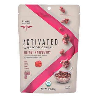 Living Intentions Activated Superfood Cereal  - Case Of 6 - 9 Oz