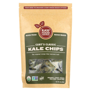 Raw Food Central Curt's Classic Kale Chips  - Case Of 12 - 1.5 Oz